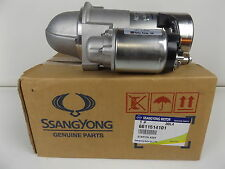 GENUINE SSANGYONG MUSSO SPORTS 2.9L  TURBO DIESEL ALL MODEL STARTER ASSY