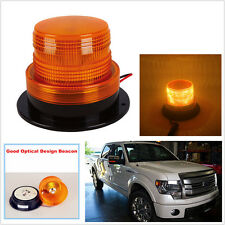 YELLOW ORANGE  24LED Beacon AMBER Light Strobe Flashing Rotating Warning Truck