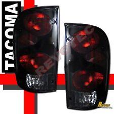 95-00 Toyota Tacoma Tail Lights 1 Pair Black / Smoke 96 97 98 99