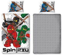 Lego Ninjago Wende Bettwäsche Set Warrrior 135x200cm Ninja