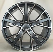 "19"" WHEELS RIMS FOR AUDI A4 A5 S5 A6 S6 A7 S7 A8 Q3 Q5 RS6 19X8.5 ET.35 5X112"