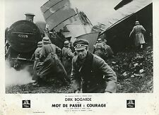 DIRK BOGARDE THE PASSWORD IS COURAGE 1962 VINTAGE PHOTO LOBBY CARD N°3