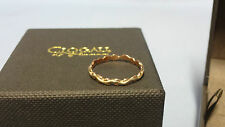 Welsh Clogau 9ct Yellow & Rose Gold Life Affinity Stacking Ring Size L RRP £139