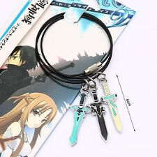 NEW Anime Sword Art Online Kirito Pendant Necklace Free shipping