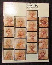1962 EROS v.1 #3 VF- Hardcover w/ Marilyn Monroe Last Photo Session - Bert Stern