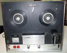 Sony Tapecorder-Model#TC-252 D Vintage REEL-TO-REEL Tape Recorder UNTESTED AS IS
