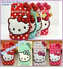 "Cute Hello Kitty Soft Silicone Full Back Case For iPhone 4/4s 5/5s/5c/6 (4.7"")"