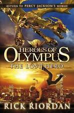 Heroes of Olympus: The Lost Hero, By Rick Riordan,in Used but Acceptable conditi