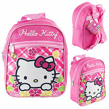 "Disney Hellokitty 10"" Mini Backpack Kids Canvas Besties Licensed New"
