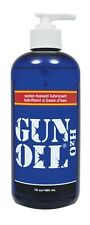 GUN OIL H2O 16oz WATER BASED LUBRICANT LUBE ADULT ENHANCER SMOOTH FEEL