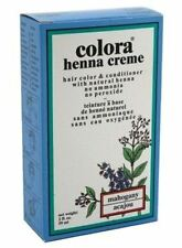 Colora Henna Creme Hair Color Mahogany, 2 oz