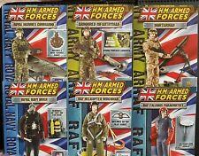 H.m. forces armées x 6 surdimensionné promo cards