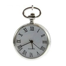 Beautiful Vintage Roman Numeral Pocket Watch Necklace (Mini Pocket Watch)