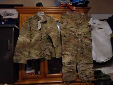 SET NEW  MULTICAM SHIRT PANT US ARMY  SIZE MEDIUM SHORT MS  NEW WITH TAG