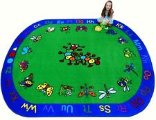 Educational Rug For Schools - Day Care - Kids Room  5' x 8' KRITTERS