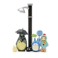 7pcs Studio Ghibli Street lamp Street lamp Bus station umbrella totoro Figure