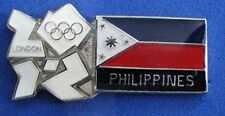 LONDON 2012 Olympic PHILIPPINES NOC Internal team - delegation pin