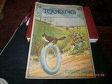 RIVISTA MENSILE TOURING CLUB ITALIANO GIUGNO 1913 COPERTINA PIRELLI