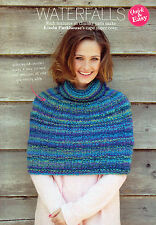 ~ Pull-Out Knitting Pattern For Lady's Cowl Neck Shoulder Cape To Knit ~