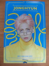 JONGHYUN (SHINee) - 1st (First) Album [OFFICIAL] POSTER K-POP GOOD/LIKE/SHE IS