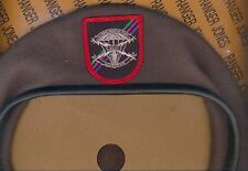 USAF Air Force Combat Weather Team Airborne beret w flash patch