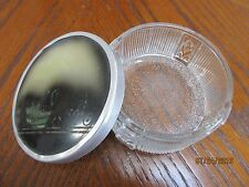 ANTIQUE DRESSER VANITY POWDER JAR ~ TRINKET BOX