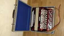 Horch Chromatic Button Accordion  Akkordeon Knopf 100 bass 3 rows