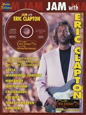 Jam with Eric Clapton Guitar TAB Music Book & Play-Along Backing Tracks CD
