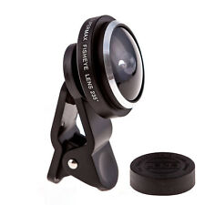 Universal 235 Degree Super Fish Eye Lens Clip-on for iPhone 6 5 Samsung HTC LG