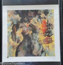 David Choe Driving Home Alone Print Signed Numbered not banksy dolk fairey obey