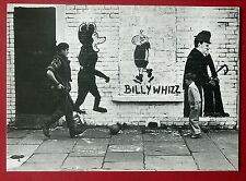 Carte postale Belfast Fall's Road Billy Whizz Chaplin Mickey graffiti  postcard
