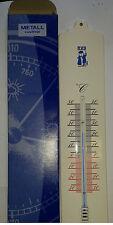 TFA Innen Außen Thermometer Größe XL Wandthermometer Metall Rostfrei 326mm Quali