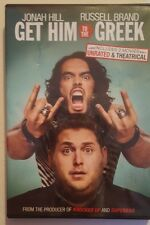 GET HIM TO THE GREEK DVD, UNRATED & THEATRICAL MOVIES JONAH HILL, RUSSELL BRAND