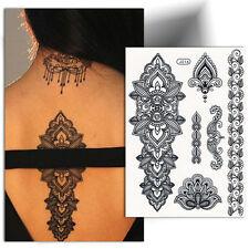 ►TATOUAGE TEMPORAIRE ORIENTAL (tatouage femme, autocollant tatouage, tattoo)◄