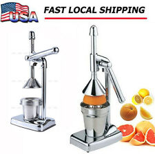 Hand Press Squeezer Commercial Manual Juicer Orange Citru Fruit Juice Extractor