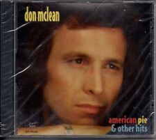 Don McLean - American Pie and Other Hits ( New) ( CD Canada)