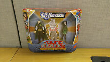 Mattel DC Universe Young Justice Ra's Al Ghul and Cheshire figure, New!