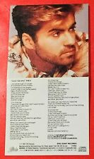 "RARE GEORGE MICHAEL Japanese 3"" CD SINGLE ONE MORE TRY 1987 + LOOK AT YOUR HANDS"