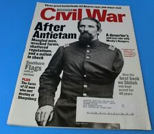 America's Civil War Magazine AFTER ANTIETAM SOUTHERN FLAGS EXCELLENT CONDITION
