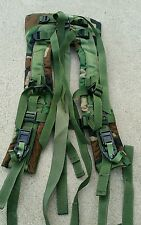 Molle II SDS Shoulder Straps with Quick Detach Straps Woodland Camo