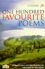 Mike Read Classic FM 100 Favourite Poems Very Good Book