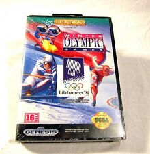 NEW SEALED Winter Olympic Games Lillehammer 94 Sega Genesis Video Game System