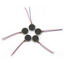 5 Vibrator Motor Vibrazione 0,06A 3V-4,5V Metallo Pezzi Ricambi Cellulari Nuovo