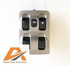 MITSUBISHI MAGNA TL / TW POWER / ELECTRIC WINDOW MASTER SWITCH 4 BUTTON MAIN