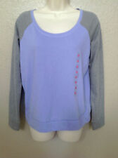 (NWT) Jenni By Jennifer Moore Purple/Gray Long Sleeve Pajama Top Size XS