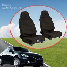 Universal 2pcs car Waterproof Nylon Front Car Seat Covers Protectors Durable KJ