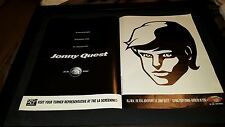Johnny Quest The Real Adventures Rare Turner Promo Poster Ad Framed!