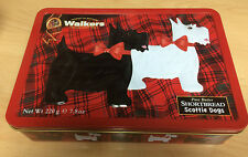 EMPTY Walkers Scottie Dog / HIghland Terrier shortbread tin. Product of Scotland
