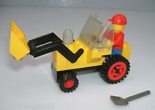 Lego 625 Town Construction Tractor Digger with Shovel + 1 Minifigure - Complete