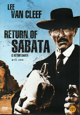 Return of Sabata - Lee Van Cleef . (NEW) 3rd in the series of 3 DVDs - Western